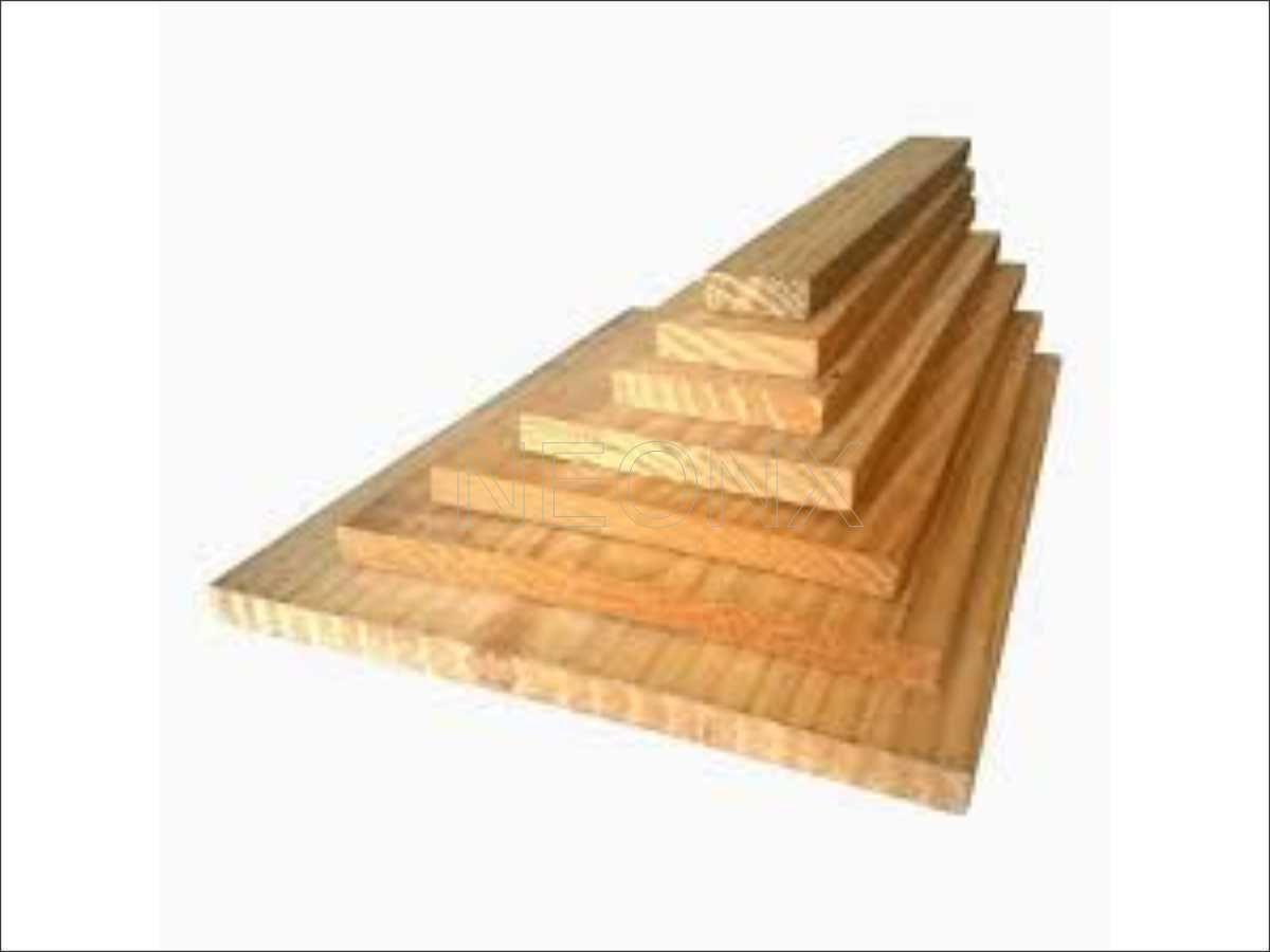 40 Unidades Ripas de Madeira de Pinus 4x2x40cm de Comprimento Plainado