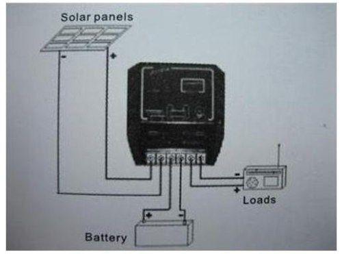 Controlador De Carga Para Painel Solar 10 A 12v/24v 120/240w