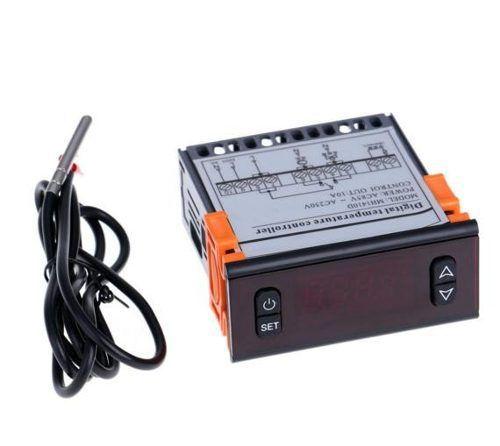Controlador Digital De Temperatura C/ Termopar -50 À 120 º C