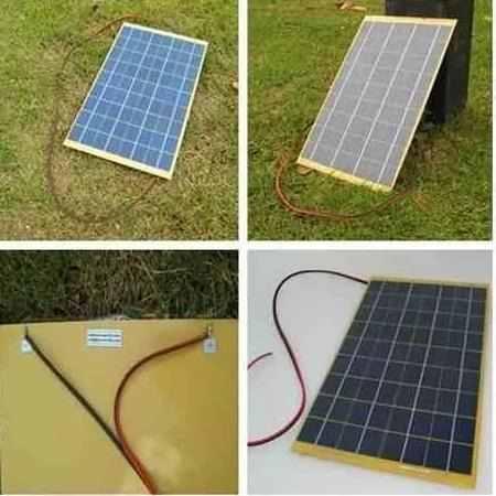 Placa Solar Painel Célula De Energia Fotovoltaica 10w 12v Neonx