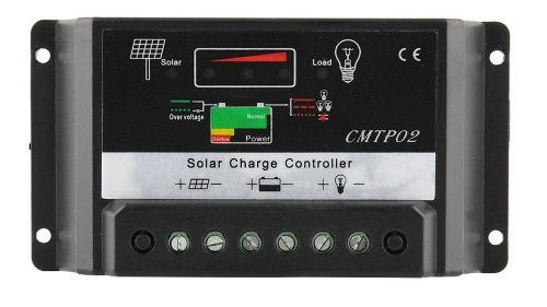 Controlador De Carga Solar 30a 12/24v Auto 360/720w Neonx