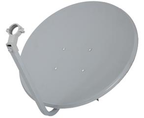 Antena Parabolica Fechada 60cm Soaj07060 Banda Ku Visiontec