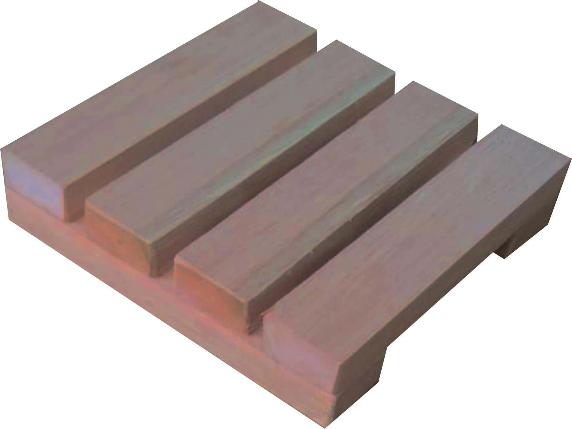 Deck De Madeira Modular 20x20 Cm Sem Pintura NeonX