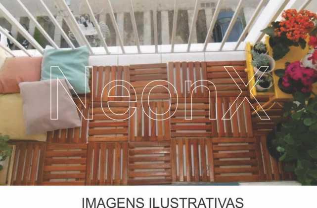 Kit 8 Unidades Deck De Madeira Modular Base 30x30 Cm Neonx