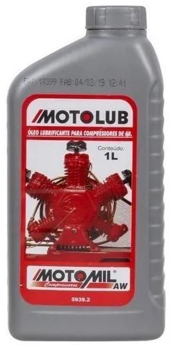 Óleo para Compressor de Ar Motolub Motomil 1 Litro