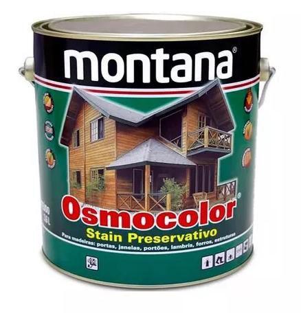 Osmocolor Stein Preservativo Castanho UV Deck 3,6 Litros Montana