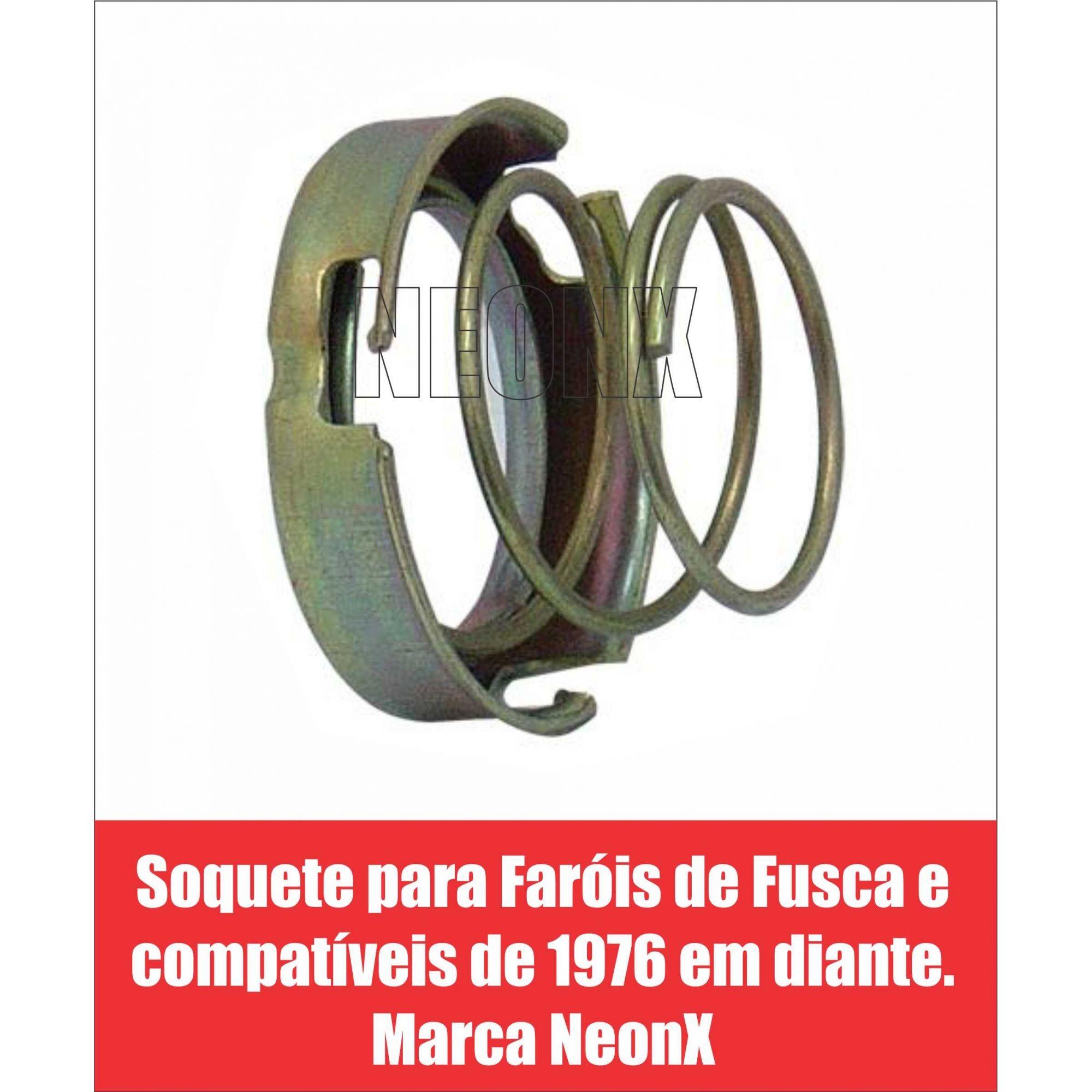 Soquete Para Farol Fusca e Compatíveis 1973/ Neonx