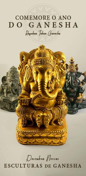 Comemore o Ano do Ganesha! Descubra nossas Esculturas de Ganesha.