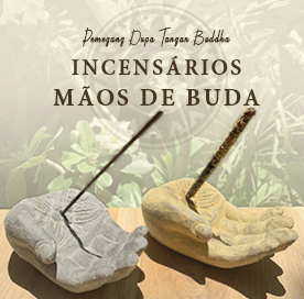 Incensários Mãos de Buda