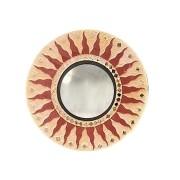 Espelho em Mosaico - Centro Refletivo com Raios de Sol em MDF - [20/30/40]