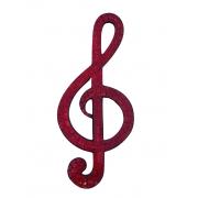 Mosaico - Nota Musical ( Laranja ) ( 50cm )