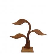 Porta Brincos Árvore da Vida em Madeira Suar ( 25cm )