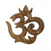 Símbolo de Om em Madeira Suar ( 30 cm )