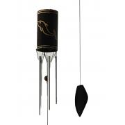 Sino Metal & Bambu - Golfinho - Mensageiro do Vento ( 80cm )