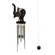 Sino Metal & Madeira - Elefante - Mensageiro do Vento ( 65cm )
