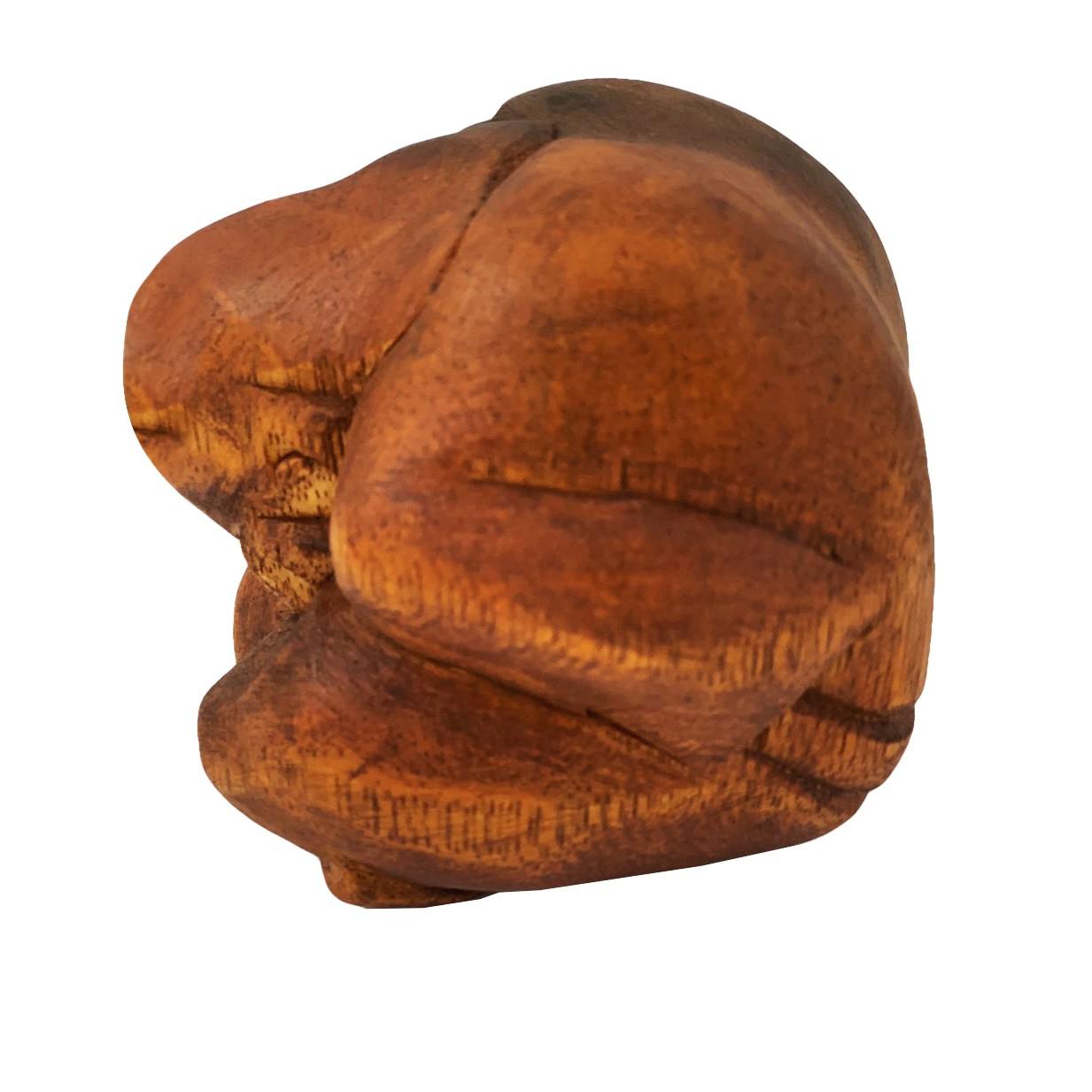Esculturas Monge Yogi Encolhido ( 10 cm )