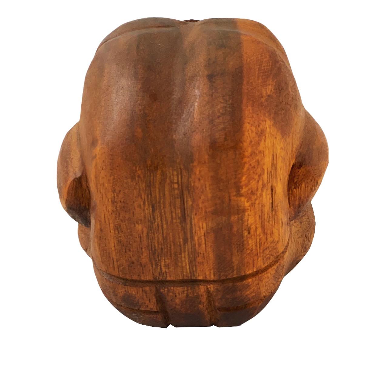 Esculturas Monge Yogi Encolhido ( 15 cm )