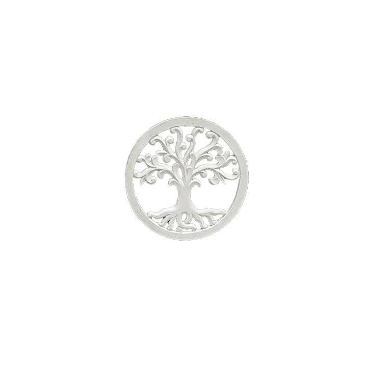 Mandala Árvore da Vida - Branca - Folhas arredondadas [30/40/50 cm]