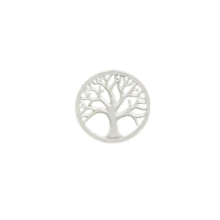 Mandala Árvore da Vida Tradicional - Branca [30 cm]