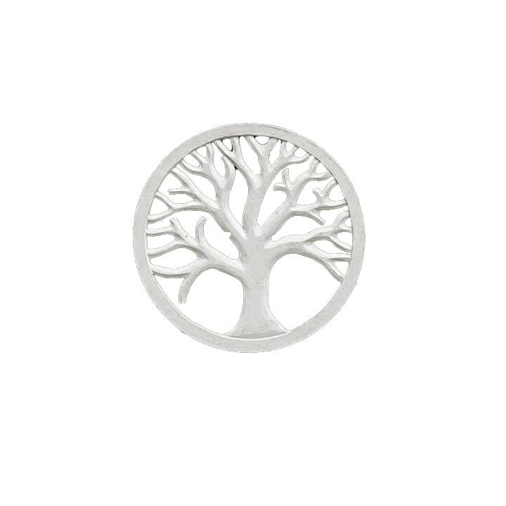 Mandala Árvore da Vida Tradicional - Branca [40 cm]