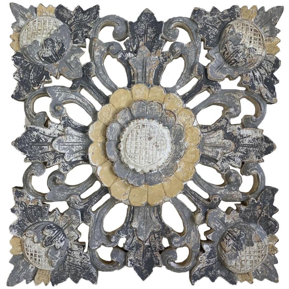 Pingente Flor de Lótus em MDF ( 40cm )