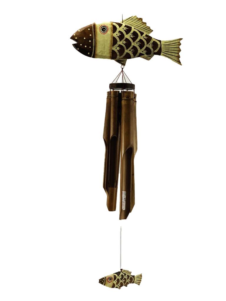 Sino Bambu - Peixe - Mensageiro do Vento ( 65cm )