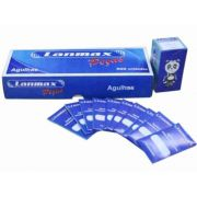 agulha para maquina domestica  HAX 1 LANMAX PCT COM 10