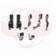 Kit 7 Calcador Teflon Para Maquina Reta Industrial