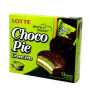 Alfajor Chocopie sabor Chá Verde - Lotte 336g