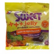 Bala de Alga Marinha Sabor Frutas Sweet Jelly 60g