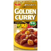 Golden Curry Chukara S&B 90g