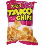 Salgadinho sabor Polvo - Tako Chips - Nongshim 60g