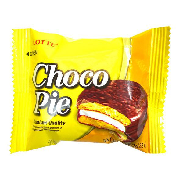 Alfajor de Chocolate e Banana Choco Pie 12 unidades