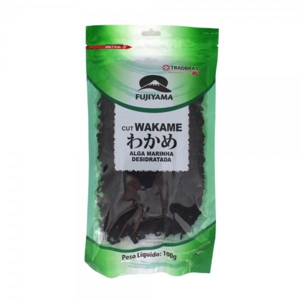 Alga Marinha Cut Wakame Fujiyama 100g