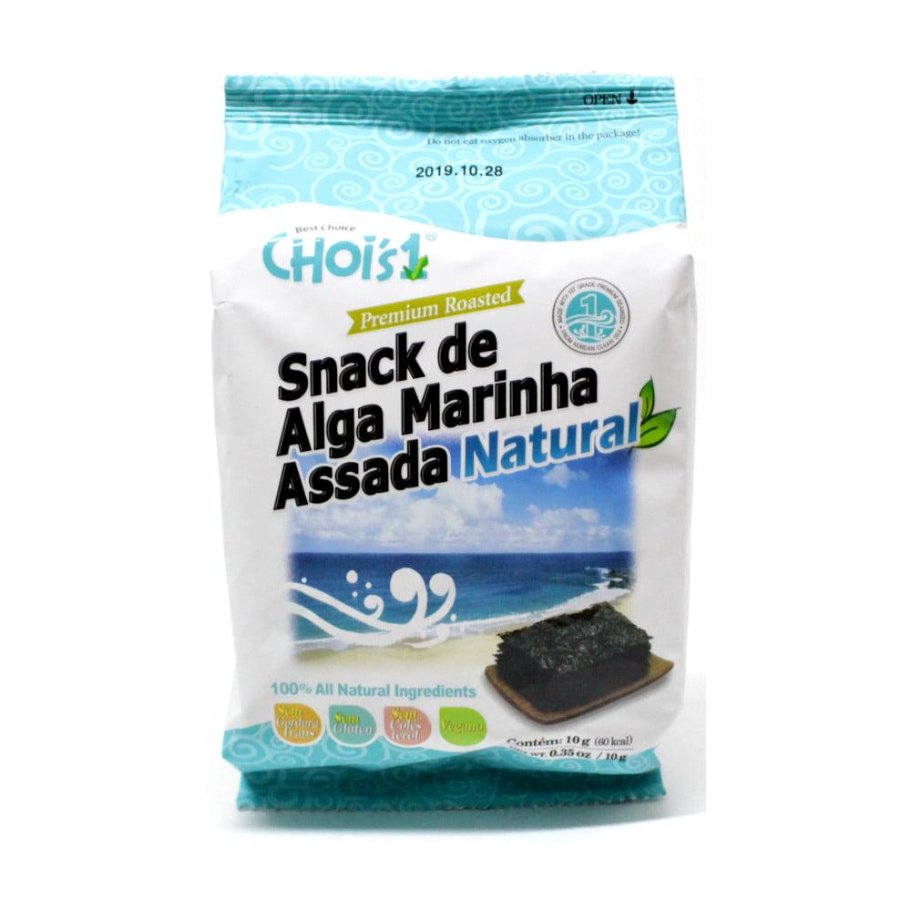 Alga Marinha Assada sabor Natural 10g