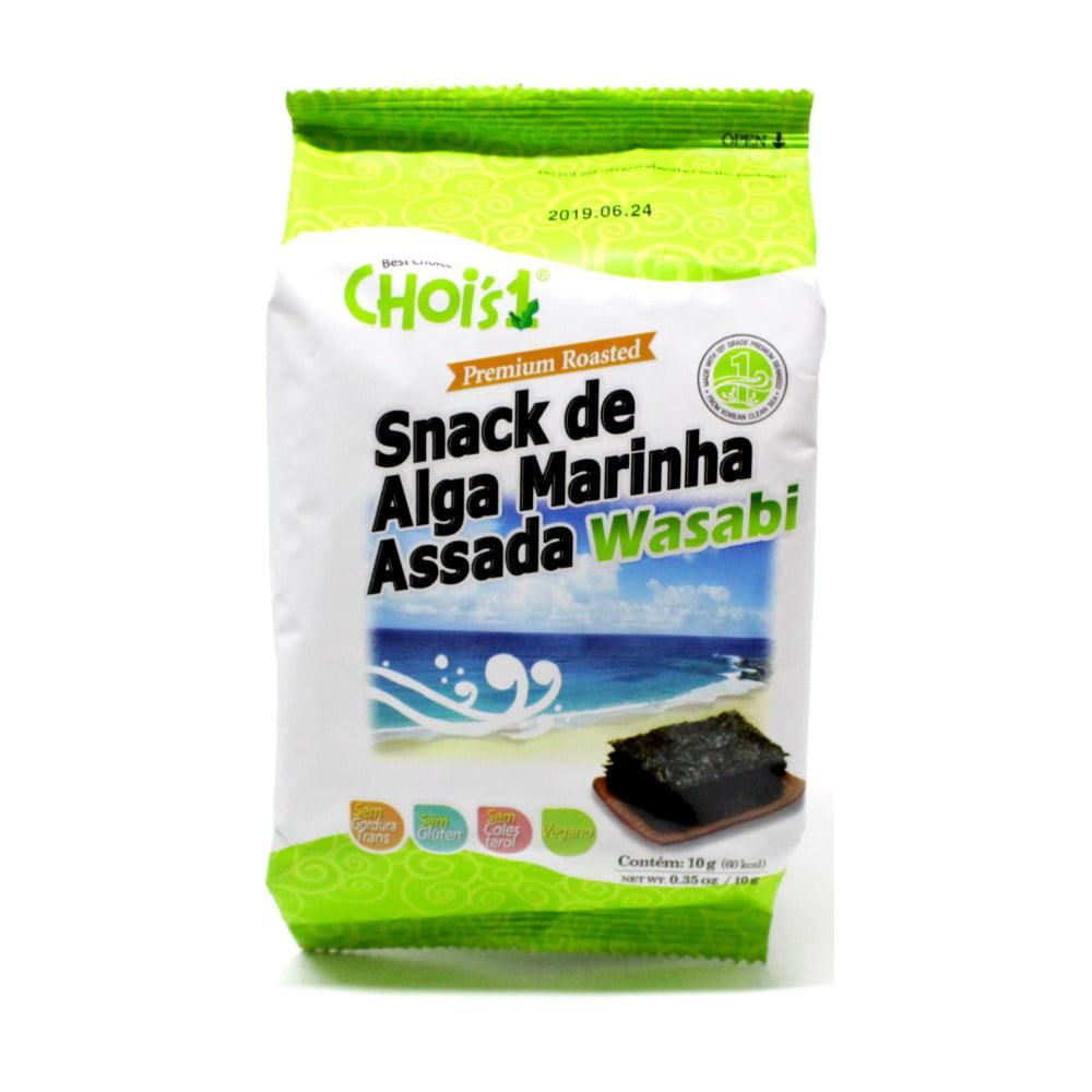 Alga Marinha Assada sabor Wasabi 10g (Ref. 875)