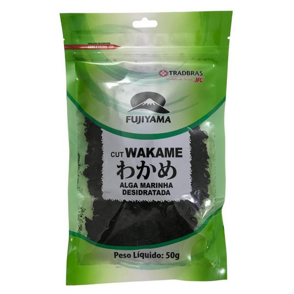 Alga Marinha Cut Wakame Fujiyama 50g