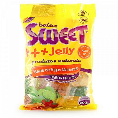 Bala de Alga Marinha Sabor Frutas- Sweet Jelly 200g