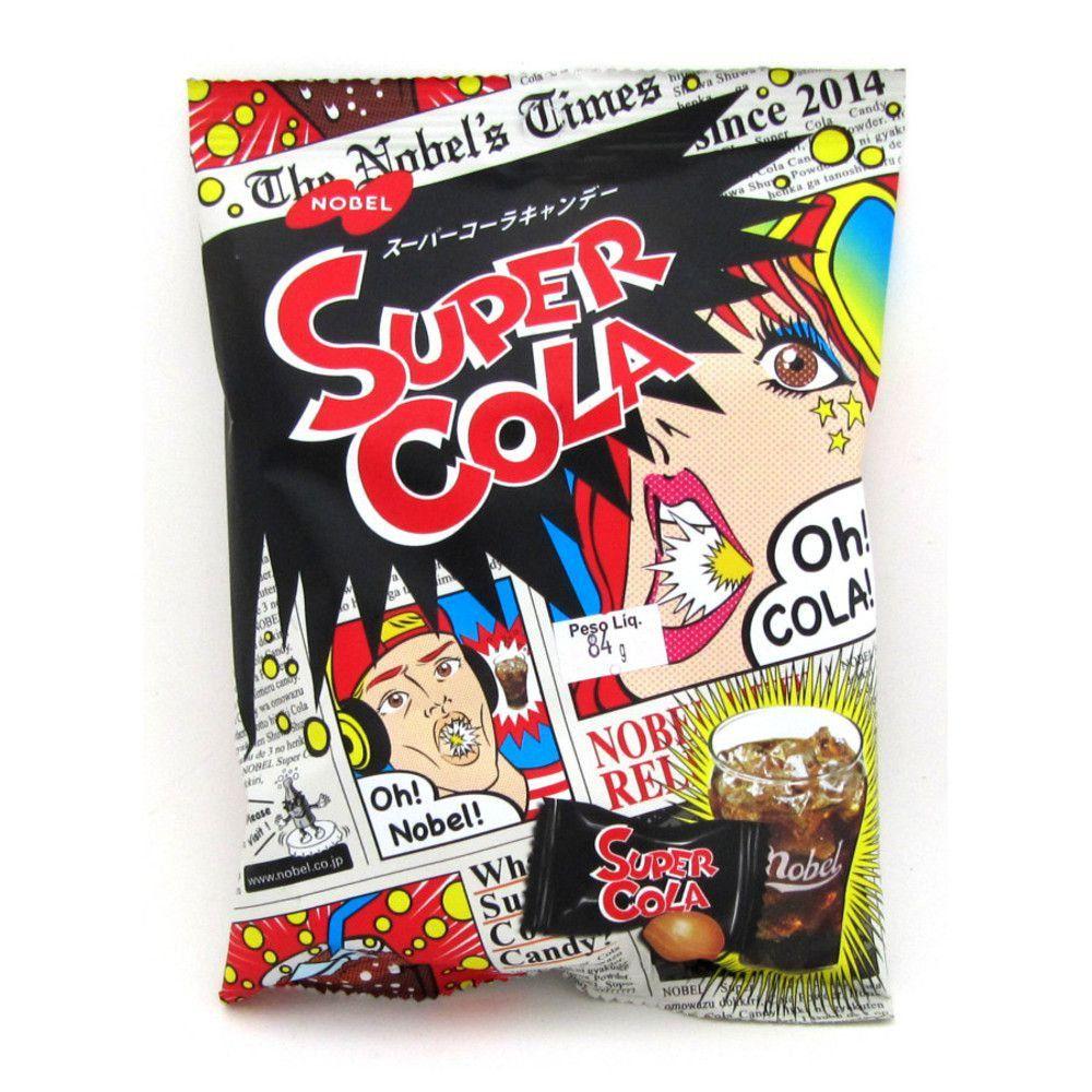Bala Super Cola Nobel 84g