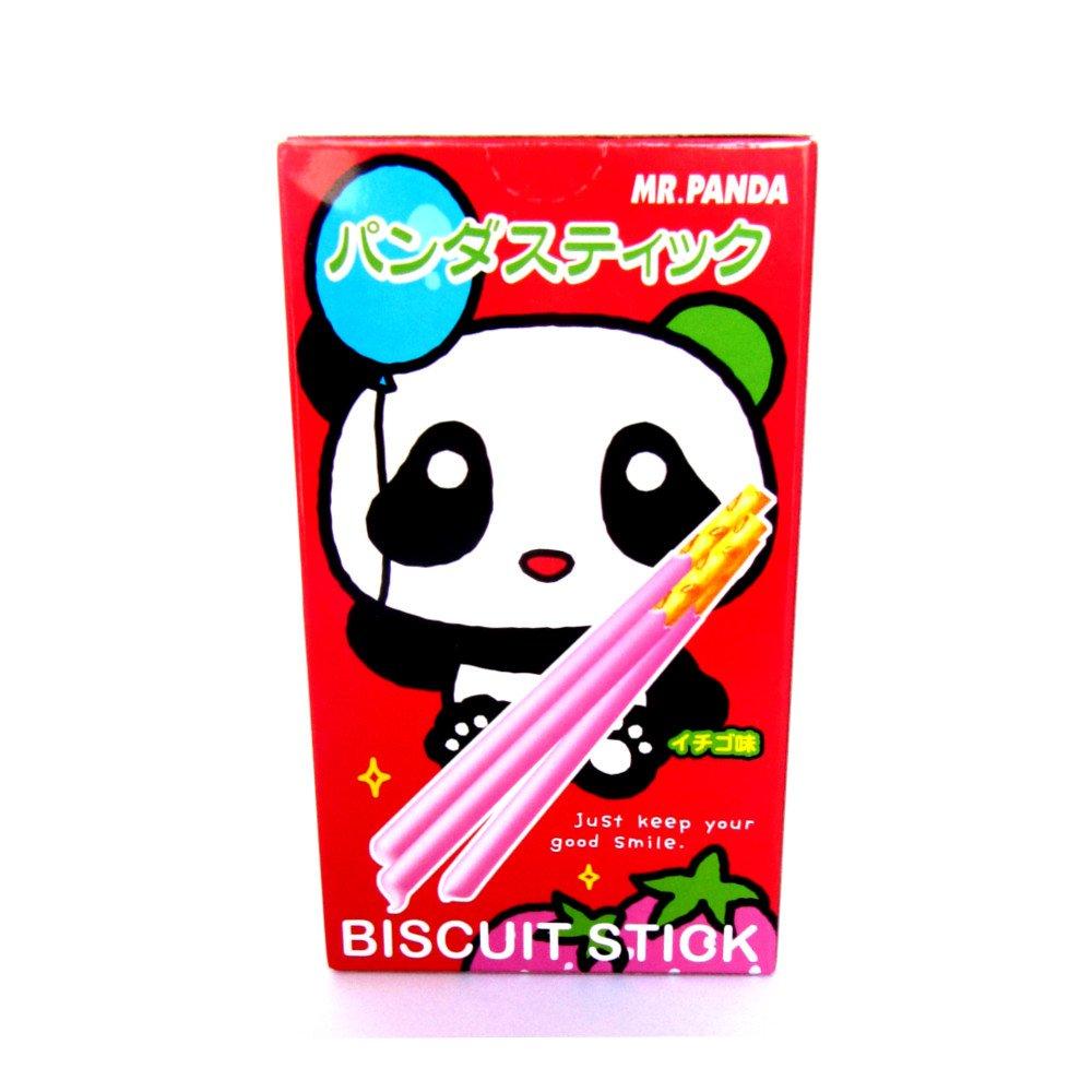 Biscoito Panda - Morango 40g