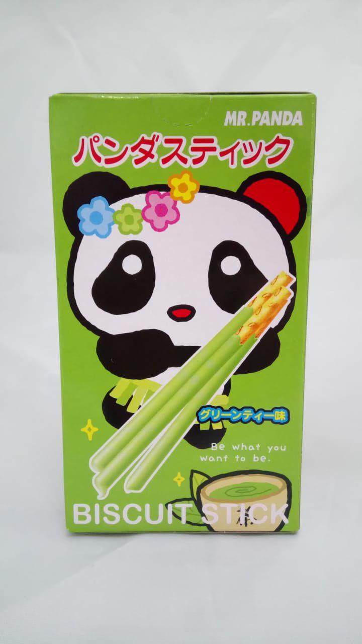 Biscoito de Palito sabor Chá Verde- Mr Panda Richy