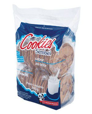 Biscoito Sembei Cookies Leite  Satsumaya 280g