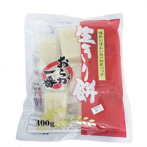 Bolinho de Arroz Glutinoso Nama Kirimochi 400g