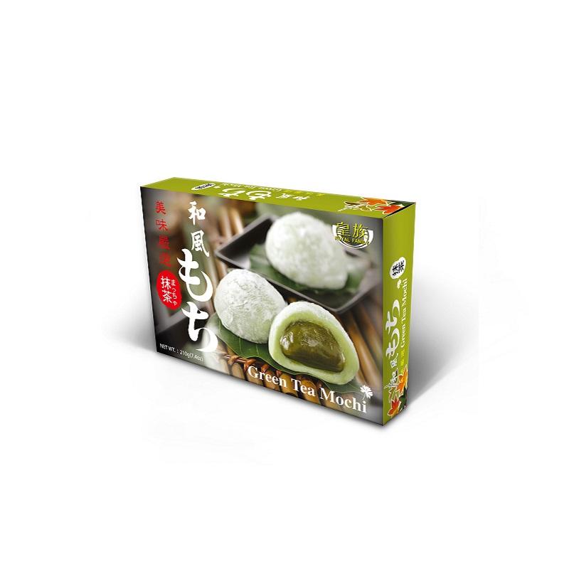 Bolinho de Arroz Royal Moti sabor Chá Verde 210g