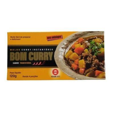 Curry Instantâneo Maruiti tradicional 120g
