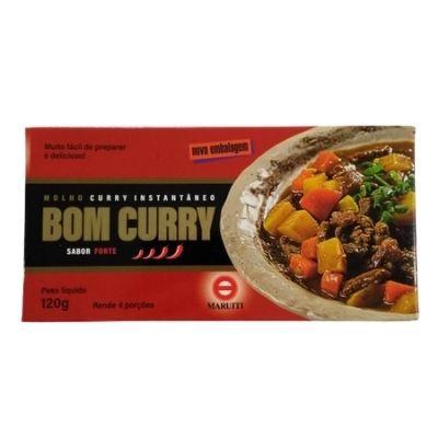 Bom Curry Instantâneo Maruiti Hot 120g
