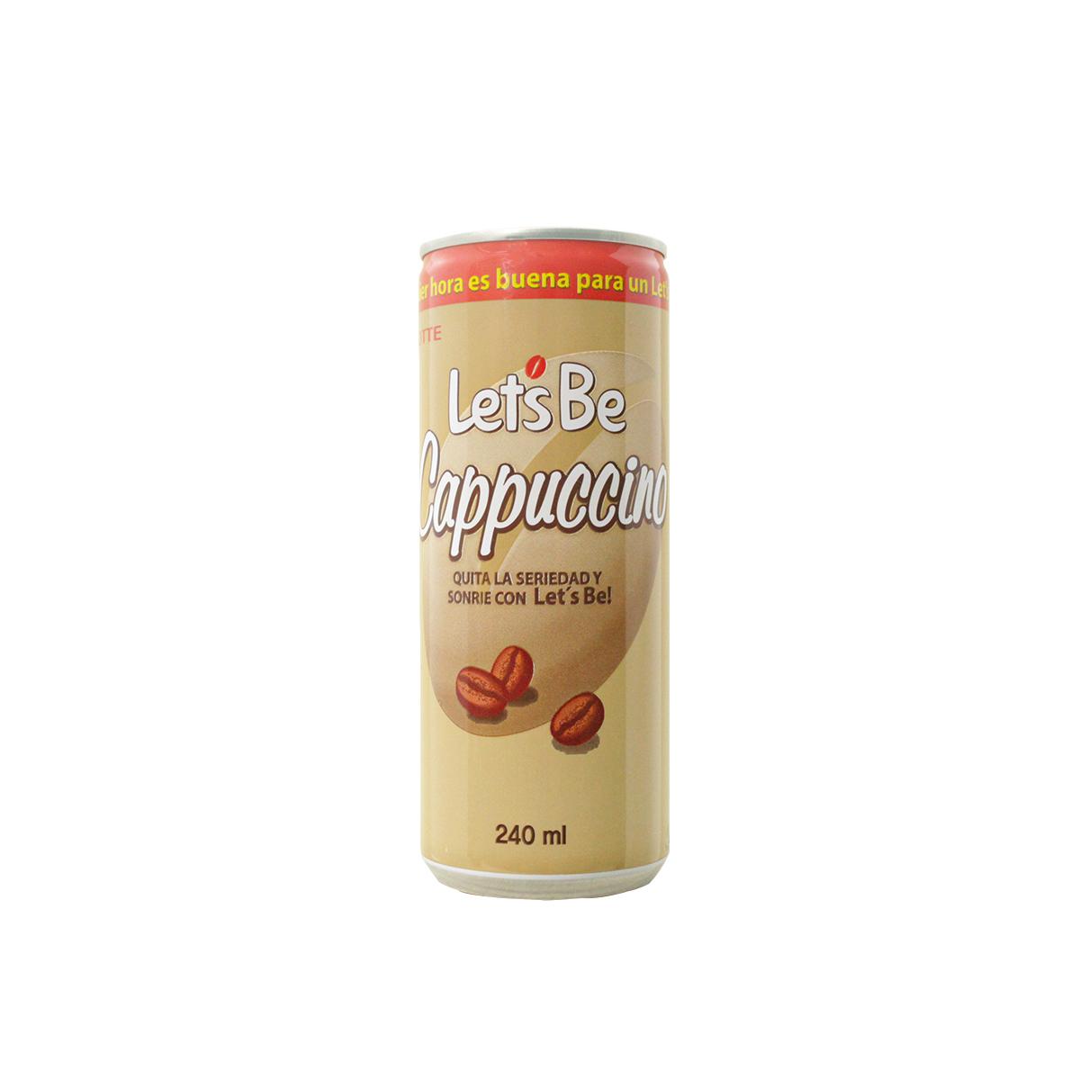Cafe Coreano Let's Be Cappuccino Lotte 240ml