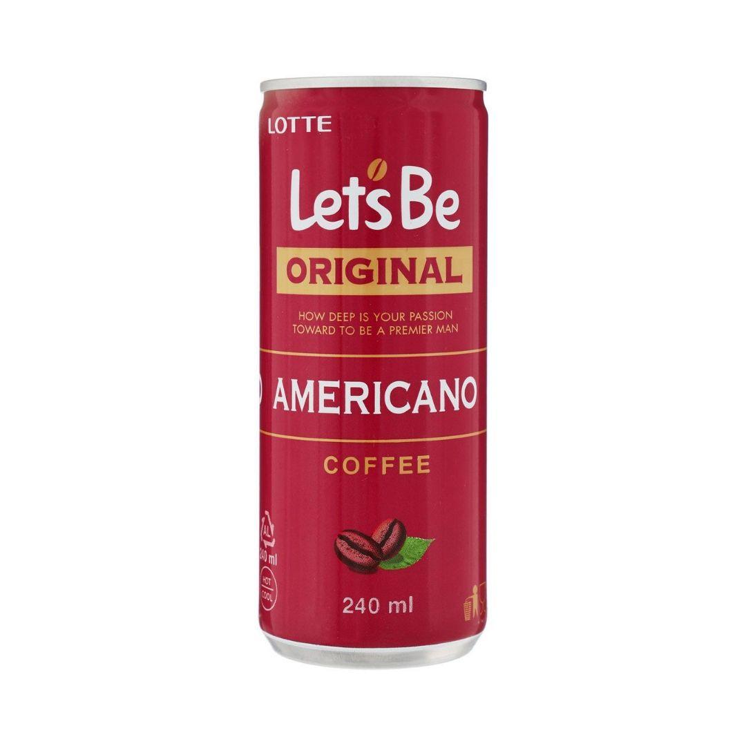 Caffe Lotte - Let's Be Americano (Original) 240ml