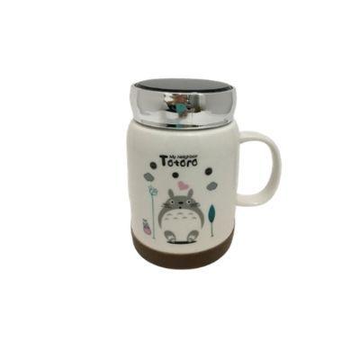 Caneca Totoro c/ Tampa Espelhada