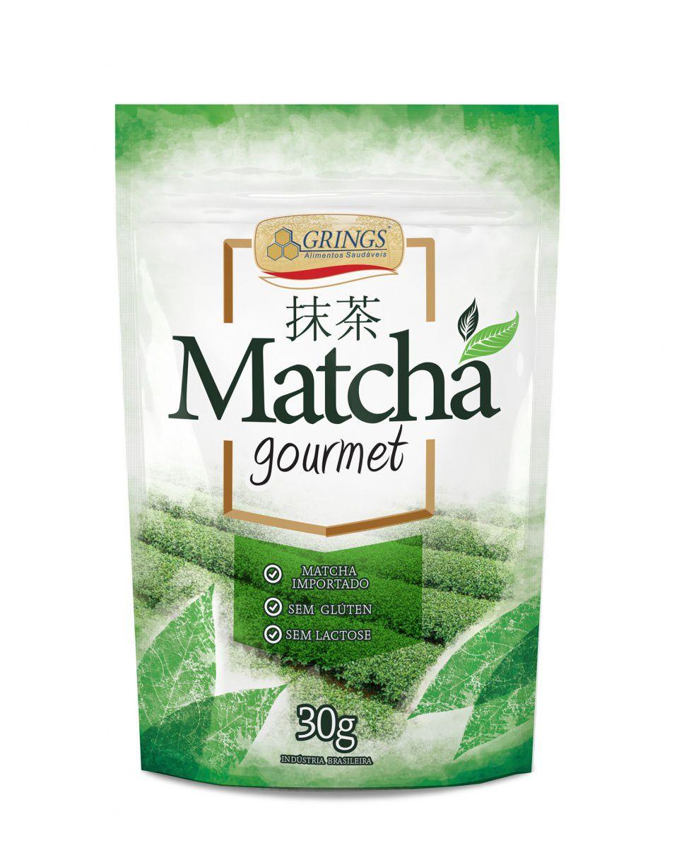 Chá Verde Matcha Gourmet 30g